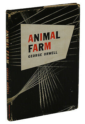 Animal Farm by GEORGE ORWELL ~ First US Edition 1946 ~ 1st Print Dystopian Fable