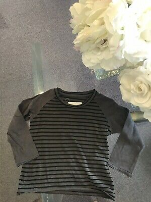 ESP Boy's Gray Striped T-Shirt Shirt size 18-24 months Orig.$92