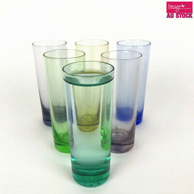 Pack of 6pcs 80ml Shot Glass Cups Drinking Entertaining Bar Party GKICGL26