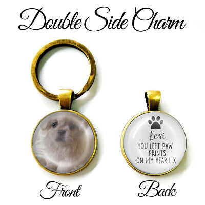 Personalised Double Sided Keyring Wedding Mum Dad Father Mother of Groom Gifts