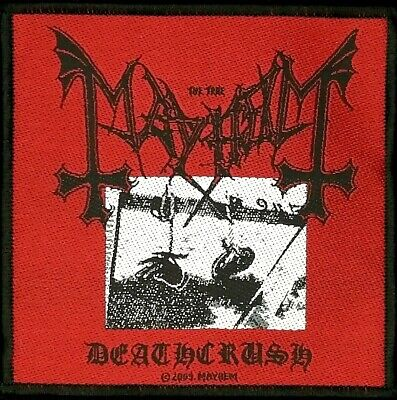 Mayhem - Deathcrush Patch - metal band merch