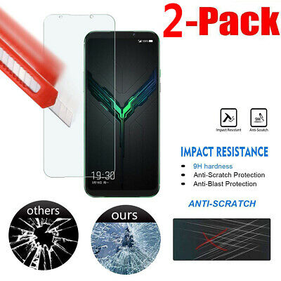 2-Pack For Xiaomi Black Shark 2 Premium Tempered Glass Screen Protector