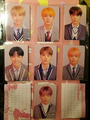 BTS Love Yourself Answer L version official Photocard FULL SET jin RM V suga jk