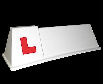 Driving School Roof Sign Magnetic Learner vehicle SOM2  'L' Lettercraft Quality