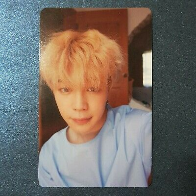 Jimin - Official Photocard BTS Love Yourself Photocard Genuine Kpop
