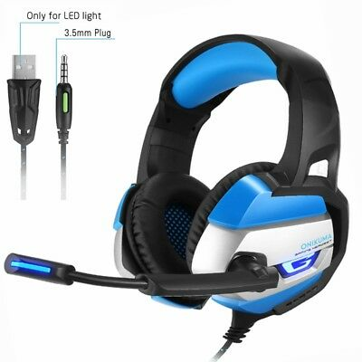 ONIKUMA K5 Stereo Surround Gaming Headset For PS4 New Xbox One PC W/Mic