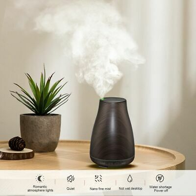 LED Essential Oil Aroma Diffuser Aromatherapy Ultrasonic Humidifier Air Purifier