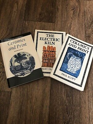 Ceramic Pottery Book Bundle