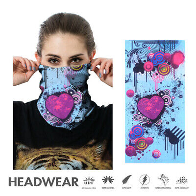 Warmer Neckerchief Neck Tube Balaclava Biker Face Mask Wind Protector Outdoors