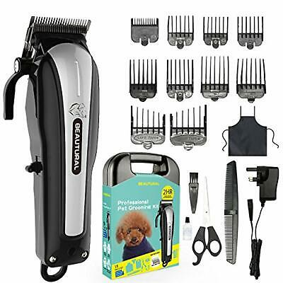 Pet Dog Professional Hair Grooming Clipper Kit Cat Cordless Trimmer Rechargeable