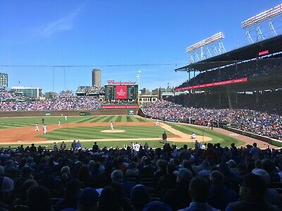 Cubs 2 Tickets Wednesday 6/26 vs Atlanta Braves Great Lower Level Open to Offers