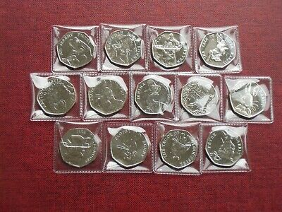 2016, 2017, 2018 Uncirculated Beatrix Potter 50p Choose a Coin or Set or All 13