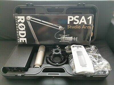Rode K2 like NTK but multi-pattern studio microphone + rode psa1 Studio Arm