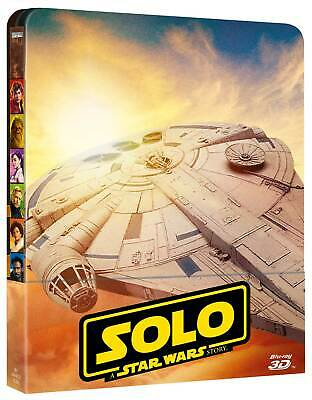 Star Wars - Solo: A Star Wars Story (3D) (3D + 2 Blu-Ray) Limited Steelbook