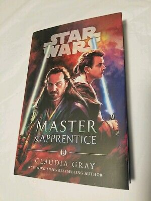 Master & Apprentice Star Wars Brand new Hardcover By Claudia Gray Jedi Master