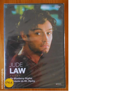 Dvd Jude Law - My Blueberry Nights / El Talento De Mr. Ripley - Nueva (Dq)