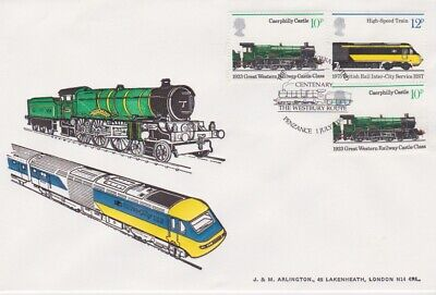 STAMPS RAILWAY TRAIN SOUVENIR / FIRST DAY COVER FROM RARE COLLECTION No 079