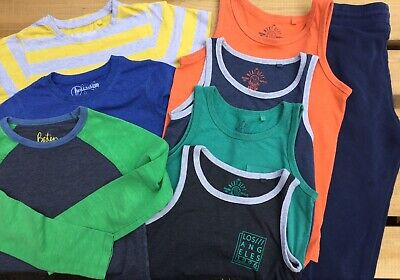 Boys Clothing Bundle Age 8-9 Years: Vests, Tops, T-shits Joggers. Boden Next H&M