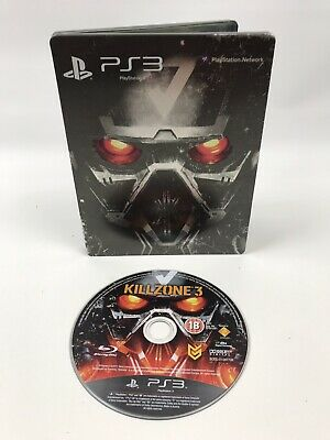 Killzone 3 Collector's Steelbook Edition PS3 Playstation 3 **FREE UK POSTAGE**