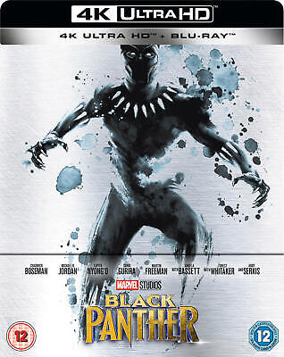Black Panther 4k UHD Steelbook (Zavvi) - New and Sealed