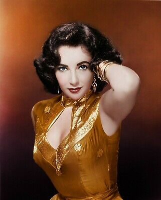 Elizabeth Taylor 8X10 Glossy Photo Picture Image #7
