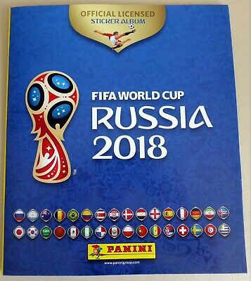 !!! NEUF - ALBUM collection PANINI -FIFA WORLD CUP RUSSIA 2018 - COMPLET
