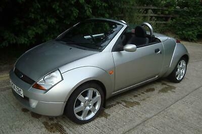 2004 Ford Streetka 1.6 Luxury Convertible 35k Miles Silver