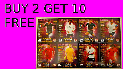 Match Attax 101 INTERNATIONAL AND SUMMER STARS