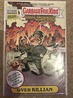 Idw - Garbage Pail Kids - Gross Encounters Of The Turd Kind Cover C - Comic