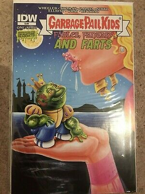 Idw - Garbage Pail Kids - Fables Fantasy And Farts Cover A Mark Pingitore Comic