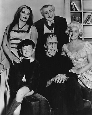 The Munsters Cast 8X10 Glossy Photo Picture