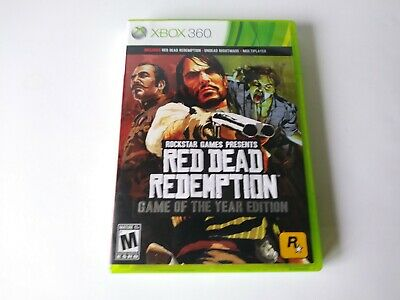 Red Dead Redemption Game of the Year Edition Video Game for Xbox 360