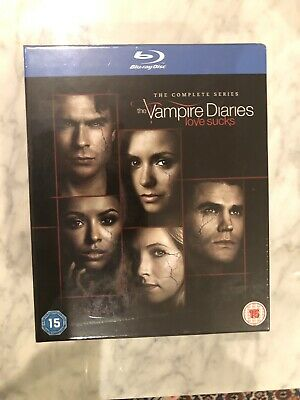 The Vampire Diaries Complete Series 1-8 Blu-ray Box Set New & Sealed