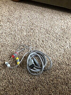 OEM Nintendo Audio Video A/V Stereo RCA Cable Cord for Nintendo Wii. US seller
