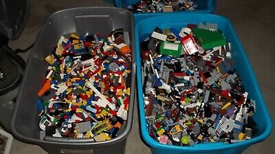 Lego 2 Pounds Parts & Pieces HUGE BULK LOT bricks blocks etc..