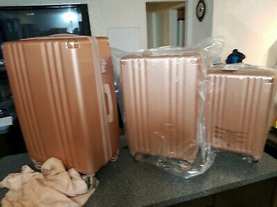 ba209f3d2 CALPAK AMBEUR ROSE Gold Carry On Travel Luggage BRAND NEW - $109.00 ...