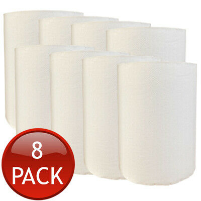 8 x TORK PAPER HAND TOWEL ROLLS MULTI-PURPOSE KITCHEN INDUSTRIAL WHITE BULK 90m