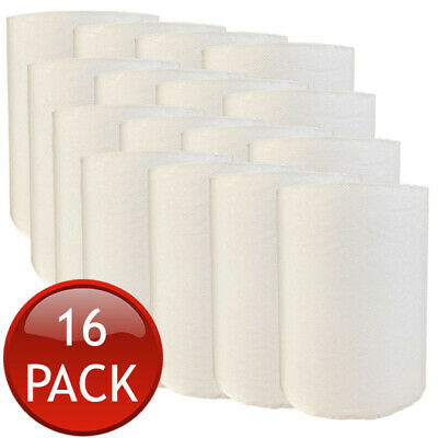 16 x TORK PAPER HAND TOWEL ROLLS MULTI-PURPOSE KITCHEN INDUSTRIAL WHITE BULK 90m