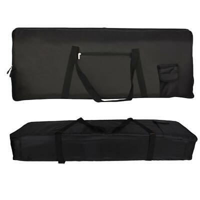 Portable 76-Key Keyboard Bag with Extra Pockets for Electric Piano