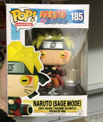 POP! Naruto Shippuden #185 Naruto (Sage Mode) Vinyl Figure Animation