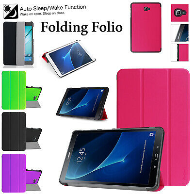 "Strong Shell For Samsung Tab A 9.7"" Inch T550-T555 Leather Smart Flip Case Cover"