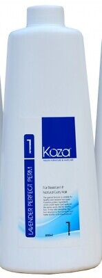 Koza Lavender Perfect Perm 1 800ml for Natural Curly and Resistant Hair