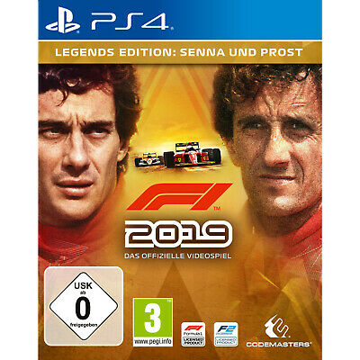 PS4 F1 2019 (LEGENDS EDITION) - PlayStation 4