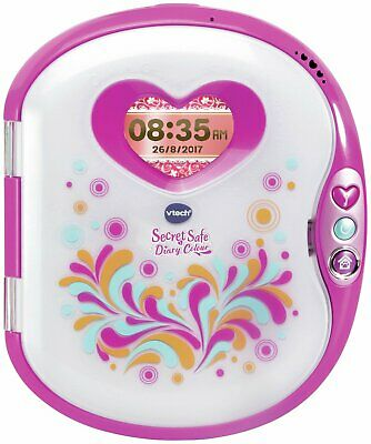 VTech 2.4 Inch Colour Screen 20 Activities Secret Safe Colour Diary 3+ Years