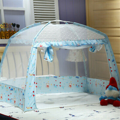 Portable Kid Baby Infant Summer Dome Mongolian Bed Yurt Folding Mosquito Net