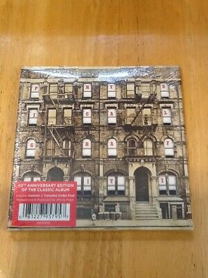 Led Zeppelin Physical Graffiti 40th Anniversary Edition CD Sealed