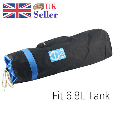 Backpack Protect Fit 6.8L Air Tank Carbon Fiber Cylinder Carrier Shoulder Bag