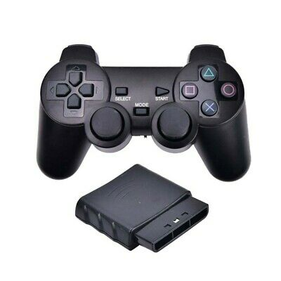 Wireless Vibrator 2.4G USB Game Controller Gamepad Joystick for PS2 3 PC Android