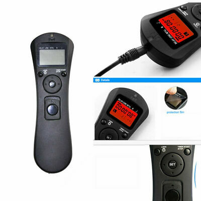 LCD Wireless Timer Remote Control For Canon EOS 1300D 760D 750D 100D 80D 70D 60D