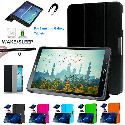 """Samsung Galaxy Tab S2 9.7""""/8.0"""" Inch Smart Flip Stand Protective Slim Case Cover"""